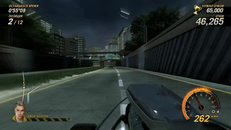 FlatOut Ultimate Carnage - Гонка в стиле Carnage (Mob Car - Downtown 3)