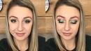 Valentine's Day Makeup Tutorial !! | Green | Kayla's Beauty Talk
