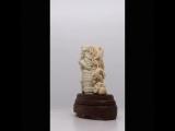 Баба Яга. Скульптура. Кость. Бивень мамонта.
