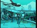 TMNT 2003 SUB 3 сезон 16 серия Существа под землей 480р