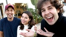 SURPRISING JOSH PECK WITH MIRANDA COSGROVE!!