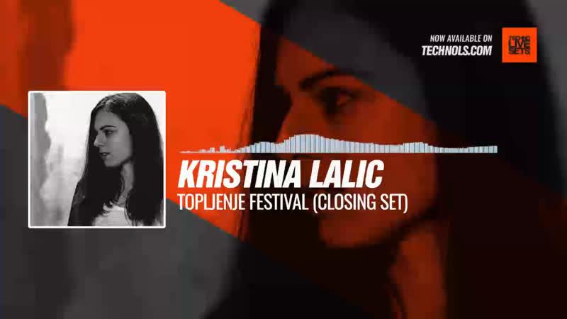 @kristinalalic Topljenje Festival Closing Set Periscope Techno music