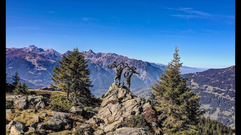 GoPro Hero 7 - DJI Mavic Pro 2 - Mountainbike Downhill - Austria - Hochjoch