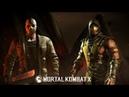 Mortal Kombat X Скорпион и Джейсон Вурхиз проходим башни, история персонажей после победы Шинока.