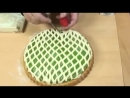 1000 мелочей Ролик фигурный для декорации теста пластик Сеточка