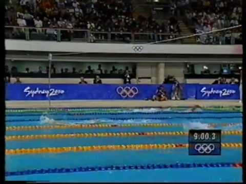 2000 Grant Hackett Olympic Gold 14 48 33 1500m Freestyle Kieren Perkins Silver 2 of 3