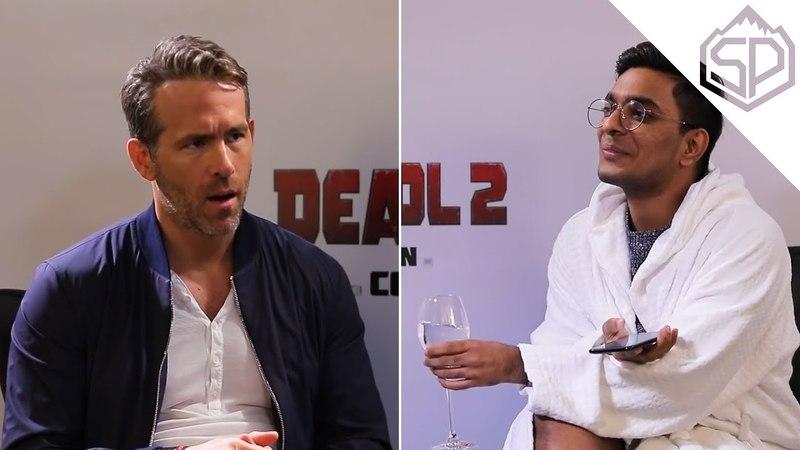 Райан Рейнольдс на импозантном интервью | Дэдпул 2