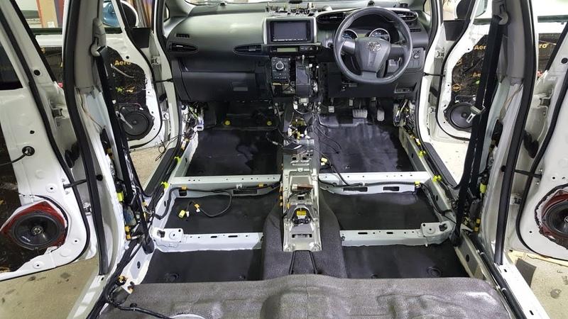 Шумоизоляция Toyota Wish по классу Стандарт