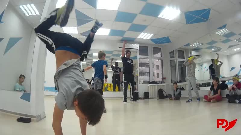 Мастер класс от b-boy Lazar (Expromt crew) в Dance Hall Studio ( г.Видное.)