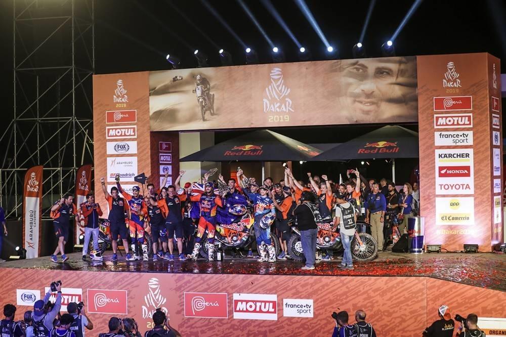 Ралли Дакар 2019, этап 10 (видео)