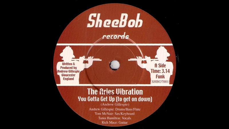 The Aries Vibration You Gotta Get Up To Get On Down Sheebob 2009 Deep Funk Revival 45
