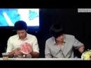 Чжи Чан Ук и Кан Ха Ныль на встрече со зрителями мюзикла Взволнуй меня 23 08 2010