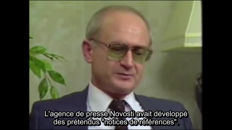 La tromperie était mon métier - Yuri Bezmenov (KGB)