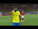 Чемпионат мира 2018. Футбол. Бразилия- Швейцария. Группа E. 1-й тур. (17.06.18). HD 720p/50fps