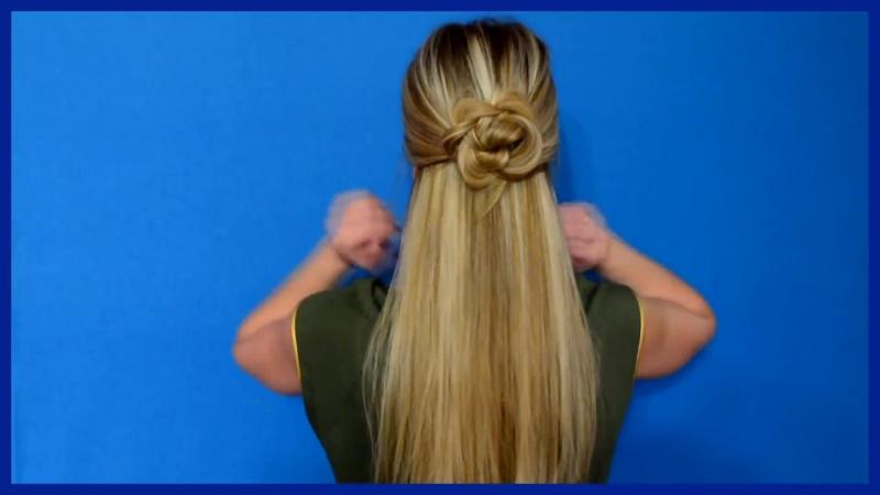 10 причёсок на каждый день за 1 минуту