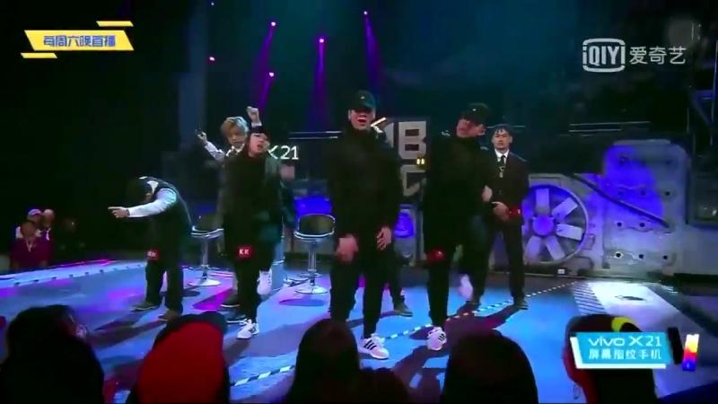 180526 Снайперское выступление Джексона (отрывок из 11-го эпизода шоу Hot Blood Dance Crew)