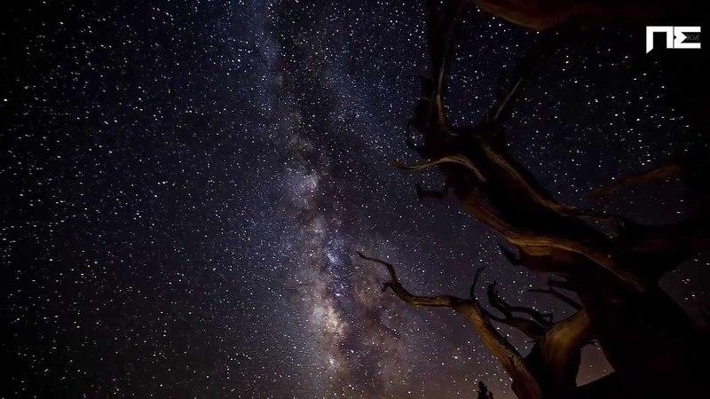Небо, звезды, красота природы и красивая музыка