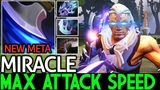 Miracle- Anti Mage Max Attack Speed Build 7.18 Dota 2