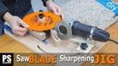 Saw Blades Router Bits Sharpening Jig