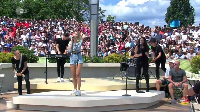 Glasperlenspiel «Royals Kings» ZDF-Fernsehgarten 03.06.2018