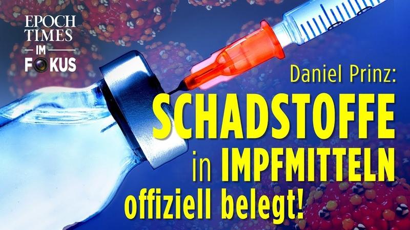 "Zellen menschlicher Föten, Glyphosat ""Kampfstoffe"" in Impfmitteln – offiziell belegt! ET im Fokus"