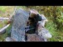 Дикая кухня - КАМЕННАЯ ПЕЧЬ _ Bushcraft Stone Kitchen (2K)