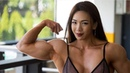YEON WOO JHI - Bodybuilding - Barbie- muscle training from Korea - workout motivation
