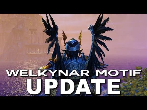 ESO Welkynar Motif - Elder Scrolls Online