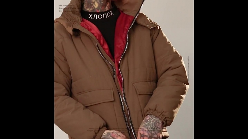 INFLATION 2018 Winter Jacket Men Clothing Solid Color Warm Parkas Thick Hooded Coat Male Zipper Casual Hooded Coat 8744W