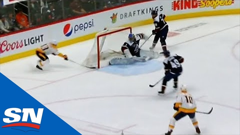 Viktor Arvidsson Speeds By Semyon Varlamov To Score Wraparound Goal Хайповый Спорт Хоккей NHL НХЛ nhlnews
