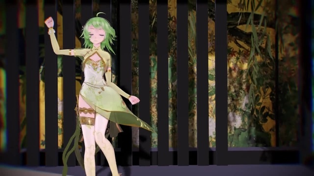 Gummi shuffle dance/ look at her glance