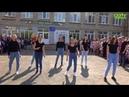 Чернушка. Школа №5, выдача аттестатов. Танец выпускников 9б класса. Видео студия Vizit studio_vizit