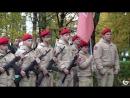 Открытие памятника Защитникам Отечества - боевая машина десанта.