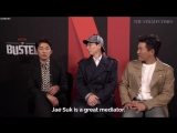 [ENG SUB] Netflix BUSTED Interviews + Behind The Scenes Compilation