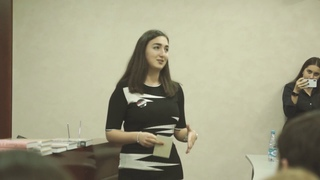 "People say ""fall in love"" not ""rise."" - ALEXANDRA ARUTYUNYAN - LET's Talk MGIMO"