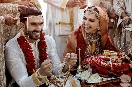 Индийская мега звезда Дипика и Ранвир поженились