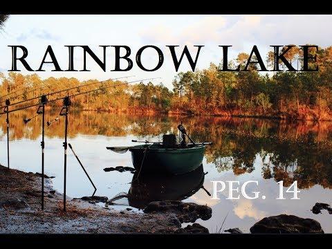 RAINBOW LAKE - LAC DE CURTON Carp Fishing peg 14