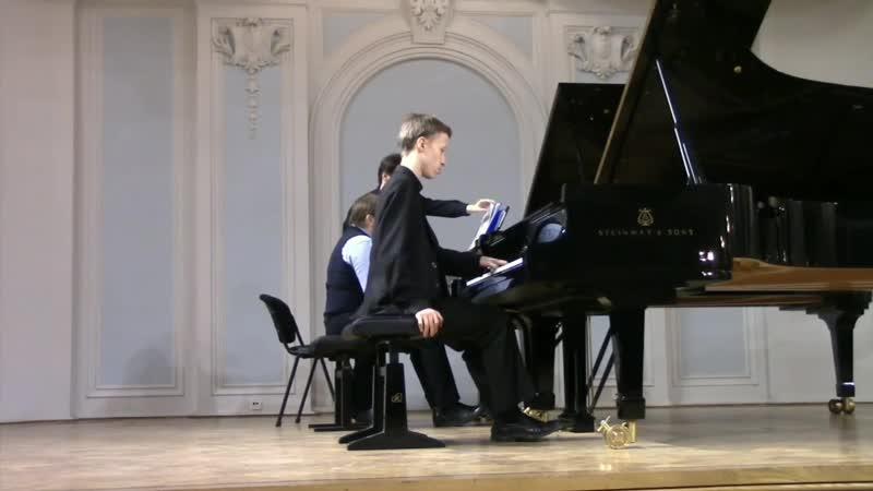 М. Равель - Концерт для ф-п с оркестром (для левой руки) D-dur
