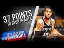 LaMarcus Aldridge Full Highlights 2018 10 22 Lakers vs Spurs 37 10 5 FreeDawkins