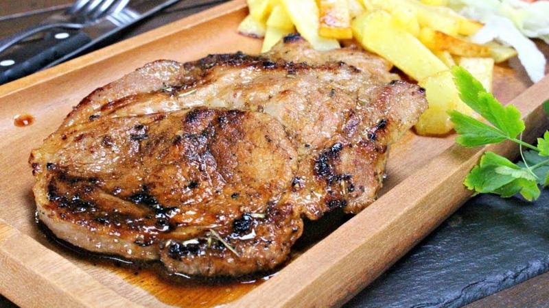 Chuleta de cerdo, receta facil y marinadas en naranja