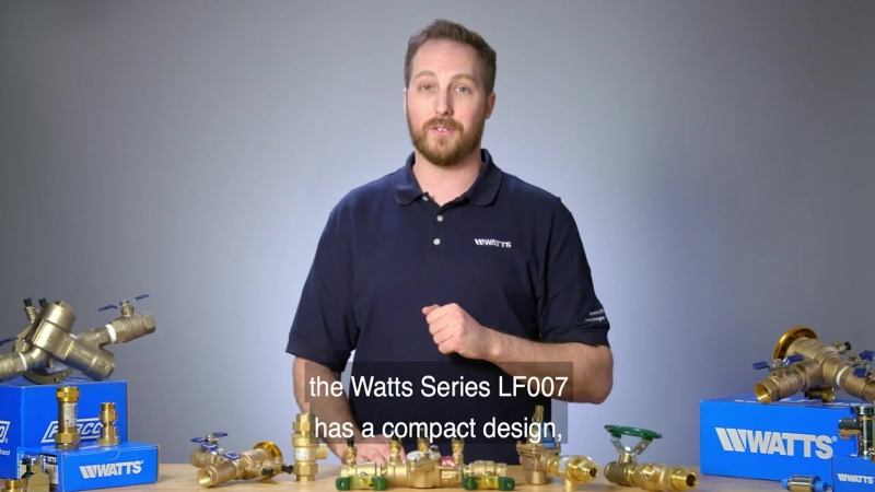 Watts Series LF007- Lead Free Double Check Valve Assembly