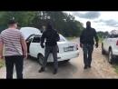 Беспредел! Быдло в масках перекрыло Серпуховский район Московской области