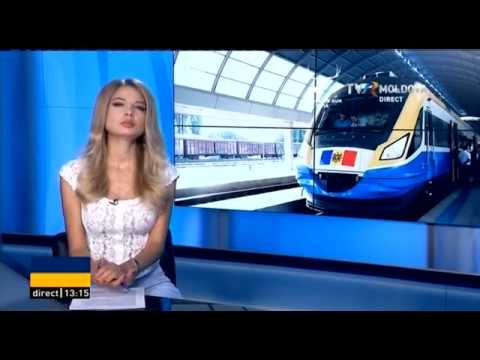 Tren Chisinau - Odessa. TVR Moldova. Gherganov