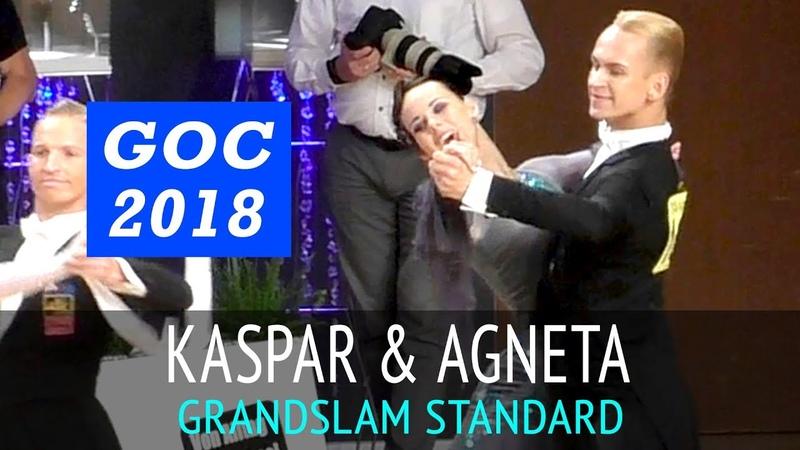 Kaspar Kaldaru Agneta Pukk | Квикстеп | GOC2018 GrandSlam STANDARD - 3тур