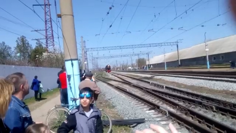 паровоз Победа