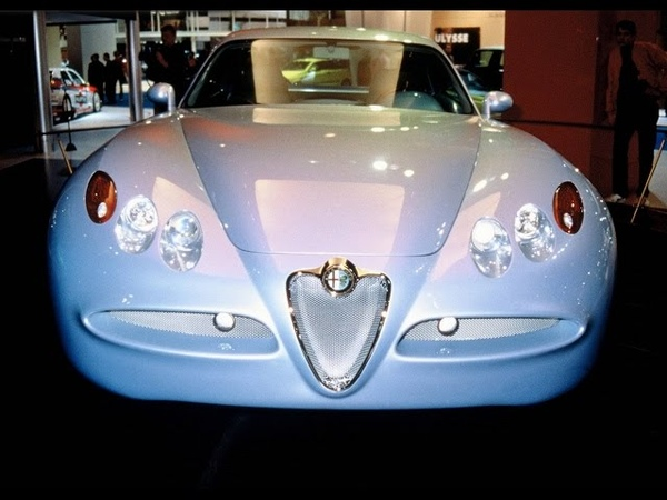 Alfa Romeo Nuvola, Alfa Romeo Museum, Arese, Lombardy, Italy, Europe