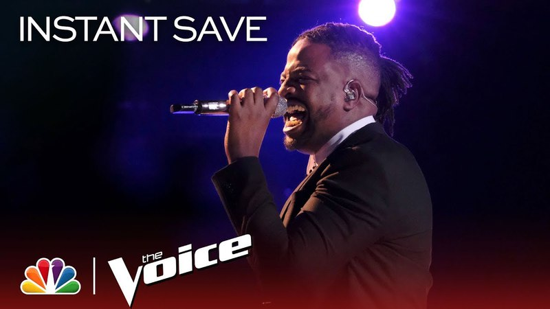The Voice 2018 D.R. King - Instant Save Performance Papa was a Rolling Stone