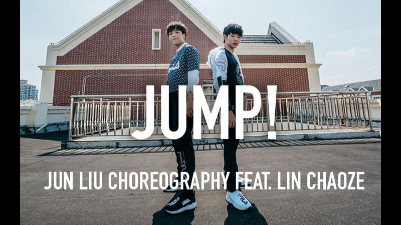 1Million dance studio Li Kai Di Qiu Biao Mian - Mayday Jun Liu X Lin Chaoze Choreography