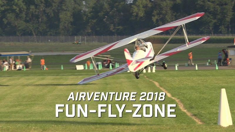 Fun Fly Zone AirVenture 2018 Ultralight/Light Sport T.O. Landings