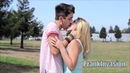 Kissing Prank - Playing Finger Game With Hot Girls For Kisses - Prank Invasion 2016